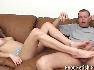 Made to worship the feet of a dominatrix