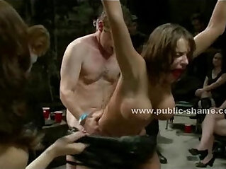 Whore forced to be an extreme sex slave