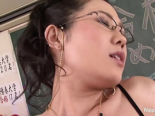 Japanese Teacher Gets his ass Fucked