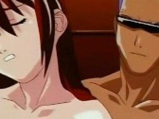Threesome fuck sexy hentai movie