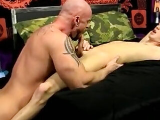 Free gay porn mobile movietures old xxx He glides his man meat into