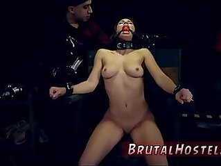 Brutal hog tied and furry hentai bondage A chair, sexual teasing