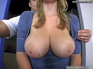 Doggystyle fuck by pornstar Sara Stone