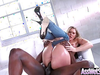 Gorgeous Hot Girl Addison Lee With Big Curvy Ass Get Hard Anal movie