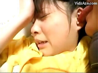 Young black Girl In Yellow Pijama Getting Her Pussy Licked Fingered Fucked On The Bed at koreana niche