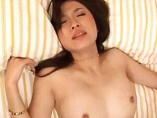 Maaya Kurihara Japanese in stockings gets face sitting before pussy slamming fuck