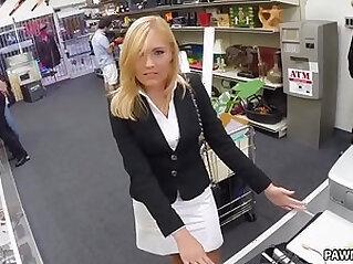Blonde MILF Banged in the PawnShop XXX Pawn