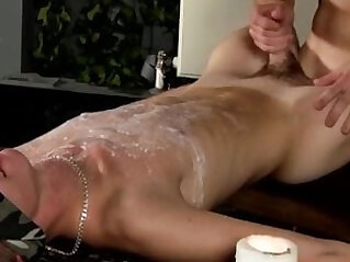 Animation boys uncut cock gay Splashed With Wax And Cum