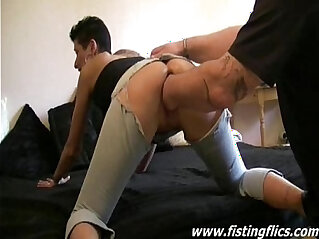 Brutally fucked amateur housewife