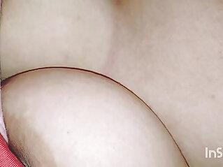 Desi Gf big boobs pressed while sleeping