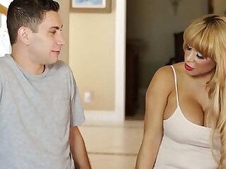 Do you wanna fuck your Mommy? Alyssa Lynn and Brad Knight