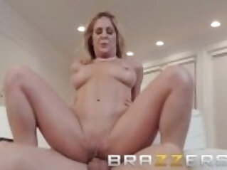 Step mom Cherie Deville shows son some support